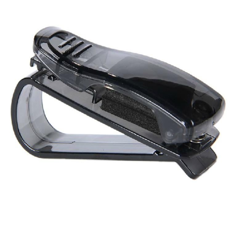 大富之家 安迪飞车载多功能眼镜夹车用名片票务卡片夹