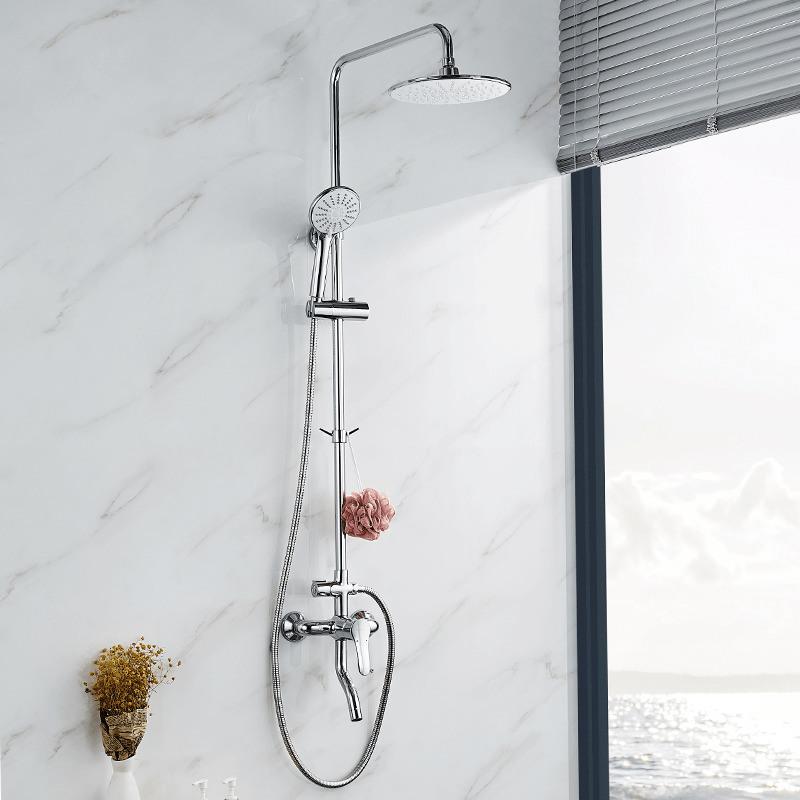 九牧淋浴花洒套装淋浴器花洒喷头卫浴沐浴器套装家用防烫洗澡神器