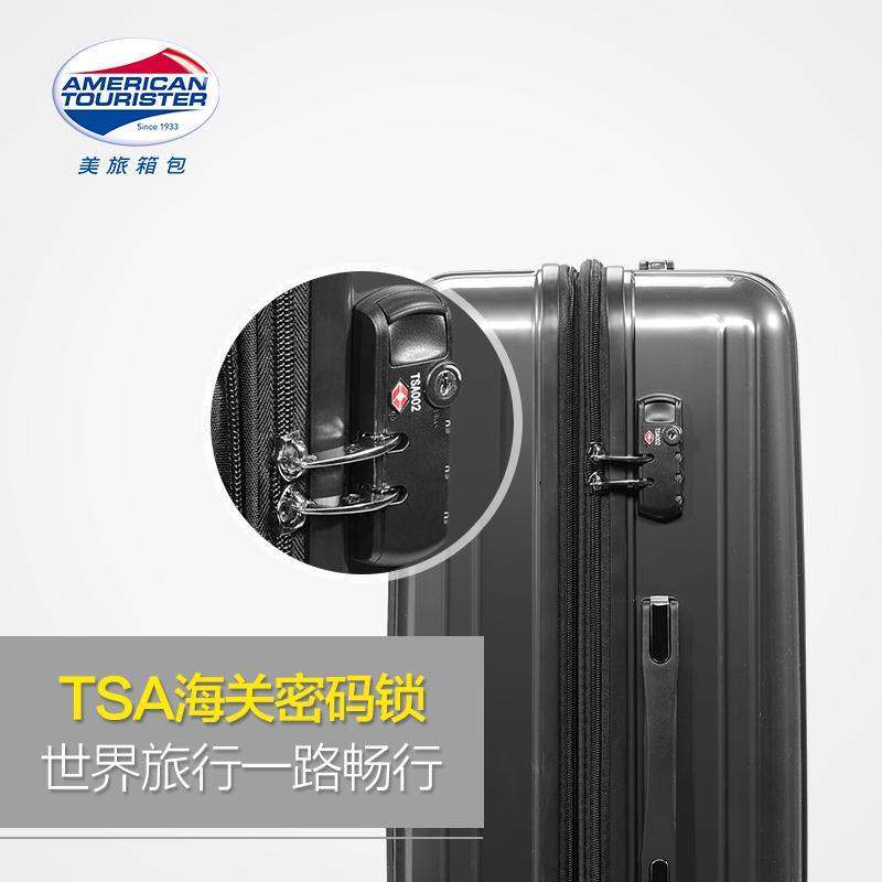 美旅28寸时尚大容量密码拉杆箱PC万向轮旅行箱子男行李箱女79B