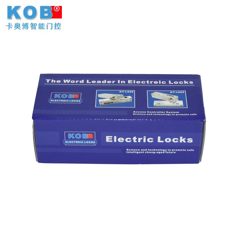 两芯玻璃无框电插锁 铝合金上下无框玻璃电锁 上下无框锁 品牌 KOB