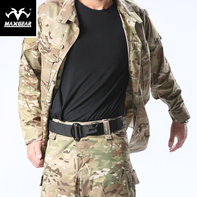 MAXGEAR響尾蛇K5特勤戰術腰帶男 軍迷戶外作訓褲帶內腰帶