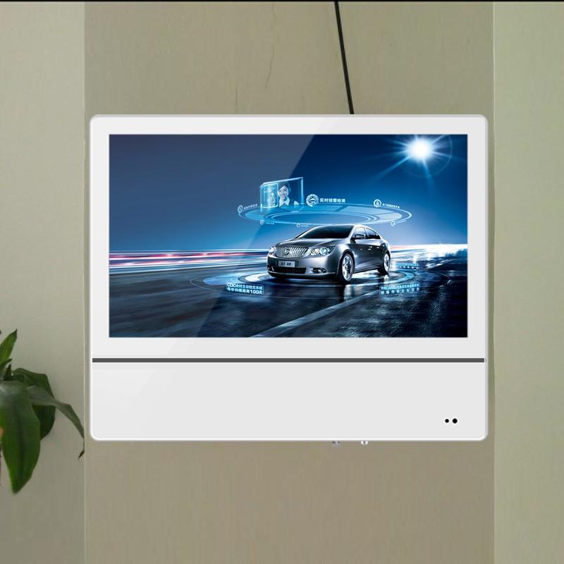 19/22寸分众电梯广告机竖屏高清液晶显示屏播放器超薄壁挂广告机