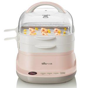 小熊肠粉机家用小型迷你早餐机多功能电蒸锅广东肠粉蒸机抽屉式
