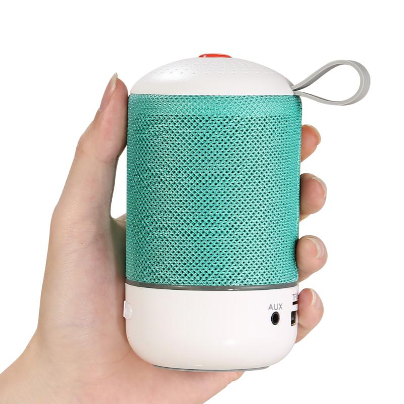 德国布艺无线蓝牙音箱便携式迷你插卡外放MP3播放器可插U盘小音响
