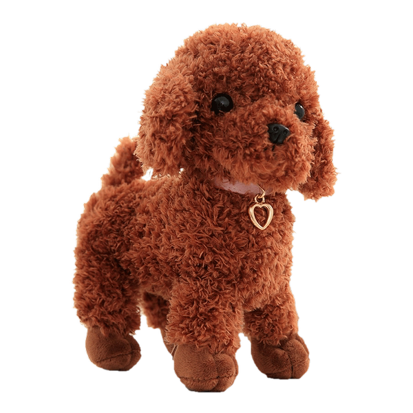 New Standing Teddy Doll Plush Toy Cute Simulation Puppy Baby Doll Decoration Girl Birthday Gift
