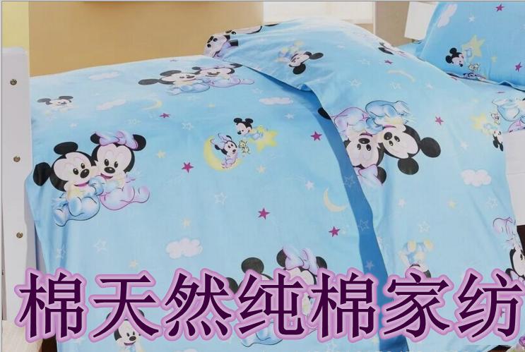 卡通纯棉全棉斜纹布料2.35米宽幅棉布宝宝婴儿童床上用品布料包邮