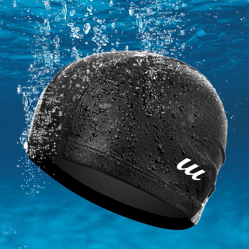游泳帽女士长发防水成人PU游泳帽泳镜近视防雾游泳镜游泳装备