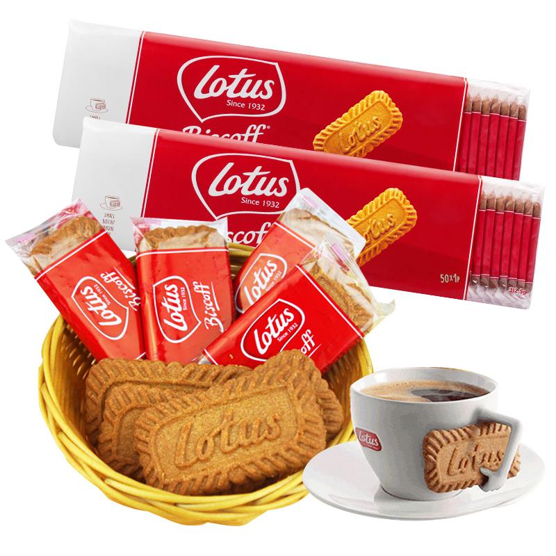 比利时lotus和情缤咖时焦糖饼干进口网红零食小吃休闲食品小包装