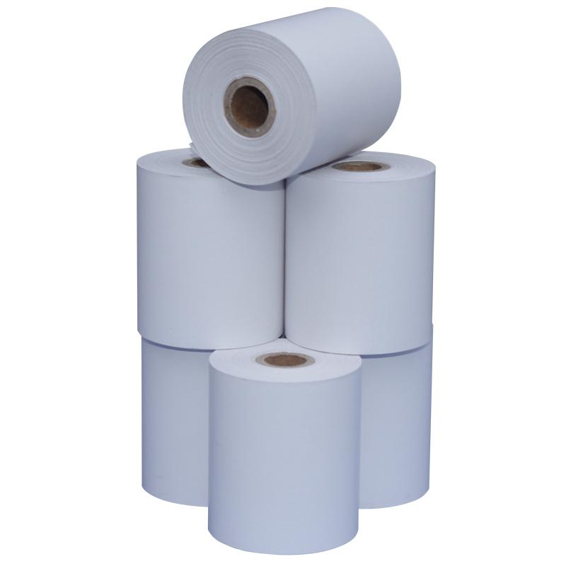包邮57*50外卖热敏收银纸超市收银58mm小票打印纸96卷小管芯5750