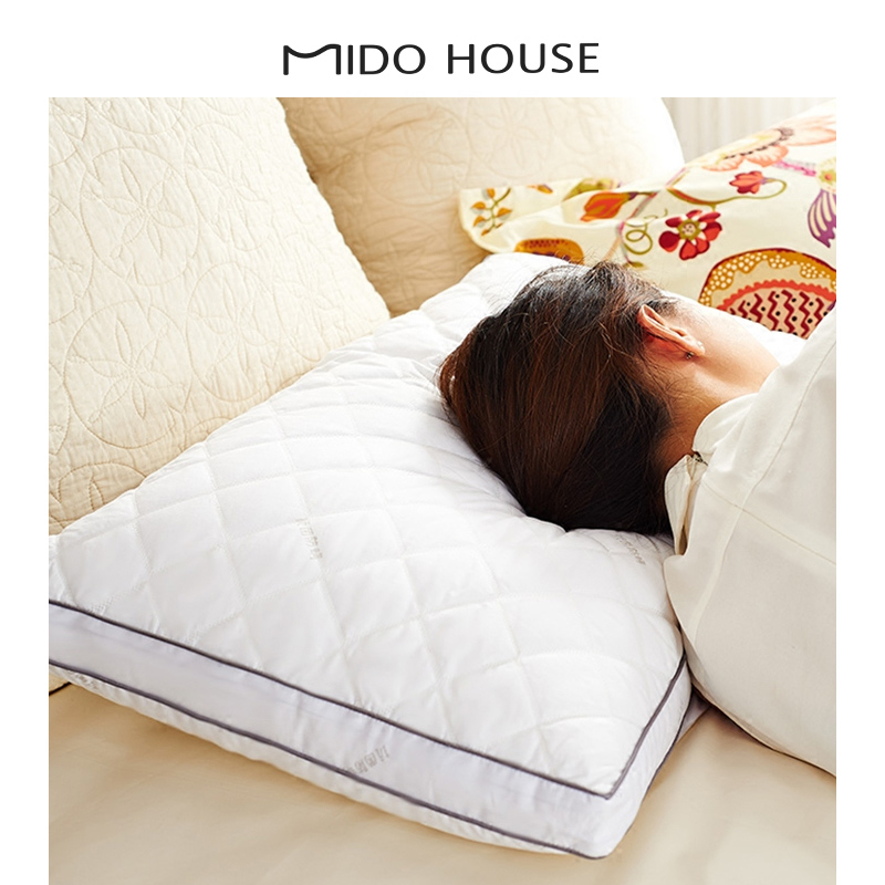 MIDO HOUSE   全棉羽絲絨枕芯單隻裝