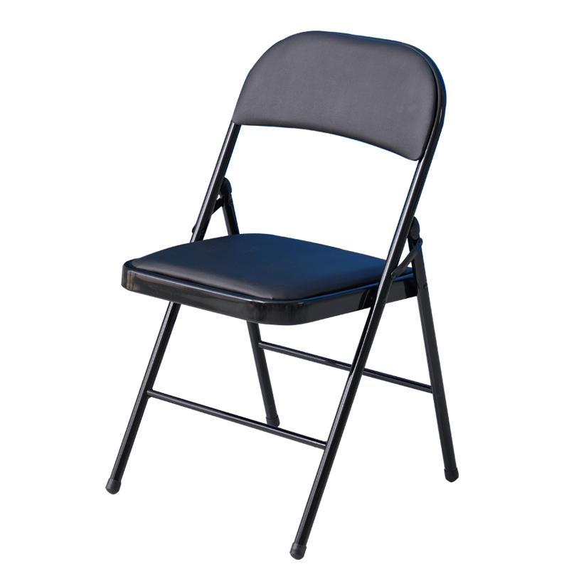 加固办公椅子时尚简约培训折叠椅电脑椅休闲便携塑料椅子折叠凳子