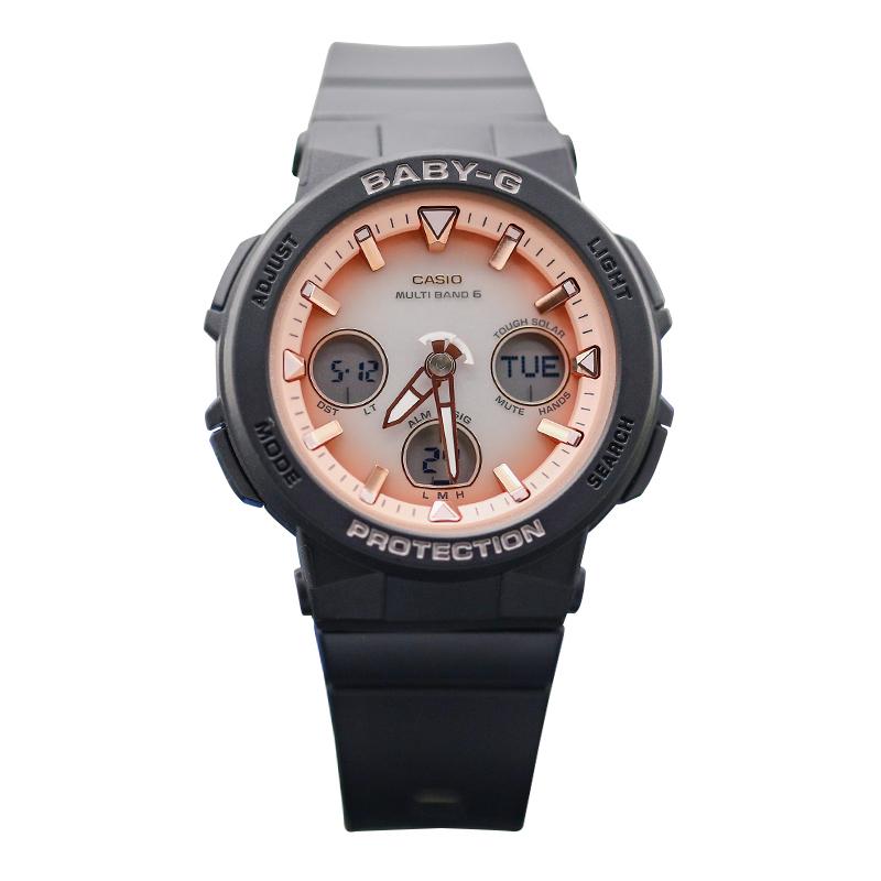 太阳能电波运动女腕表 2700 4A 1A 7A3 1A2 2500 BGA 卡西欧手表
