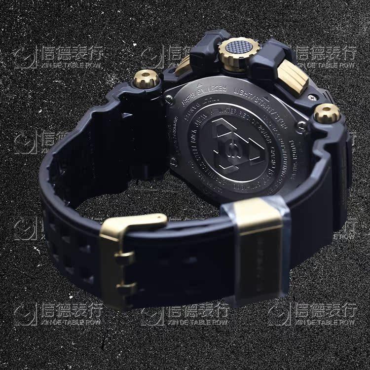 太阳能男表 1A RG 3A KH 2A 1A 1000GB GPW 卫星定位 GPS 卡西欧手表