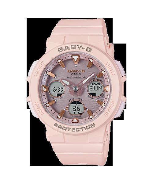 太阳能电波电子女表 250 1A 4A 2A 7A 2500 BGA G BABY 卡西欧手表
