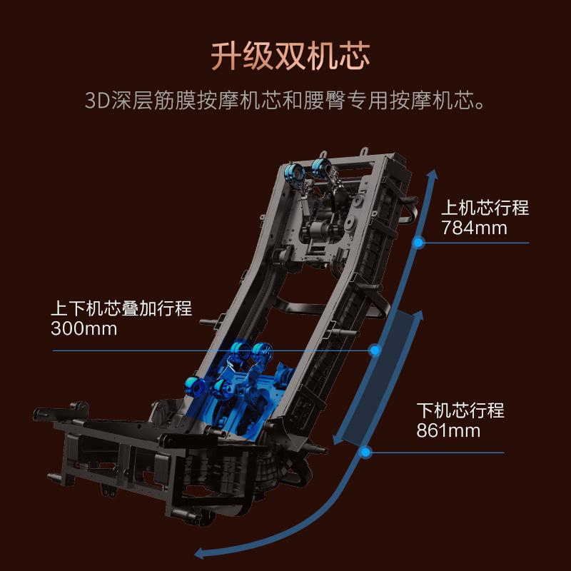 荣泰智能家用全自动多功能豪华按摩椅太空舱迪士尼大白联名RT8630