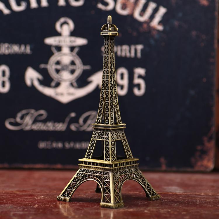 欧式简约酒柜装饰品 埃菲尔铁塔 小摆件 创意模型礼品浪漫礼物