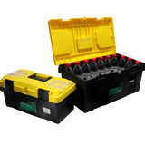 Hardware Toolbox Household Toy Storage Box Set Large Industrial Grade Portable Plastic Car Storage Box