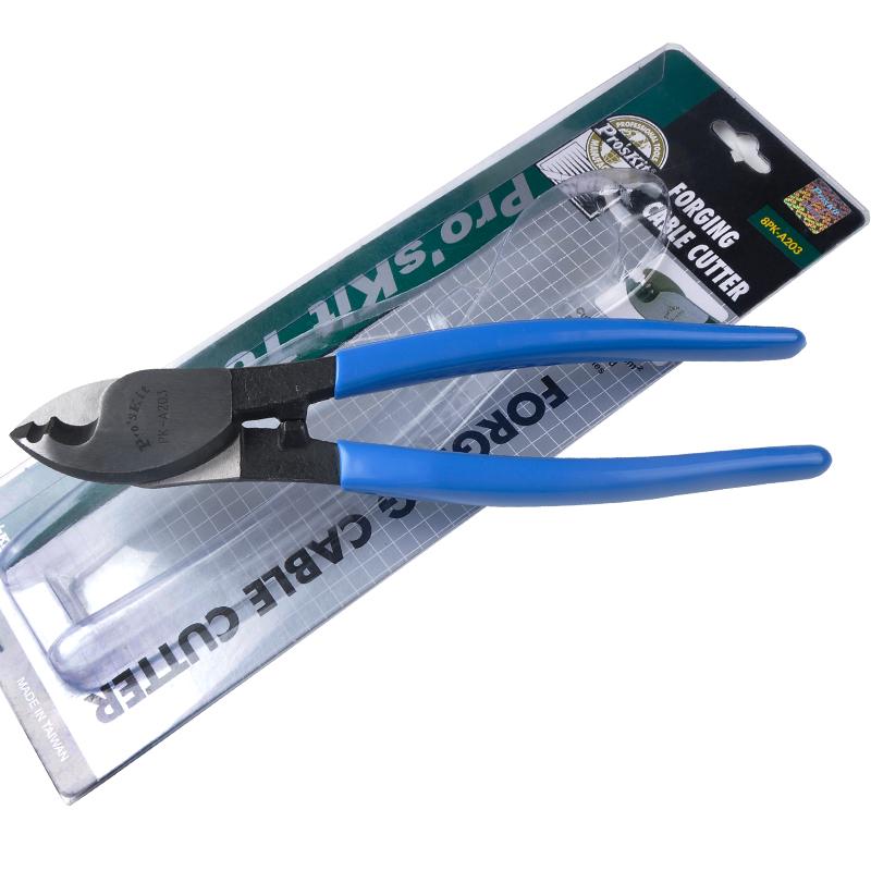 宝工 电缆钳/剪线钳/断线钳/钢铁丝钳8PK-A203 210mm