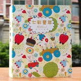 Kindergarten grow manual file record book bags a4 loose-leaf album album diy primary school children baby