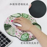 Locked memory foam wrist pad mouse pad female comfortable computer wrist pad thickened wrist support gaming mouse pad wrist pad