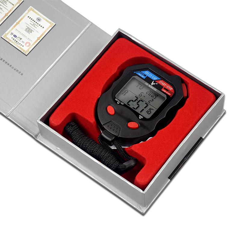 秒表计时器天福PC100D三排100道田径裁判训练健身电子运动秒表