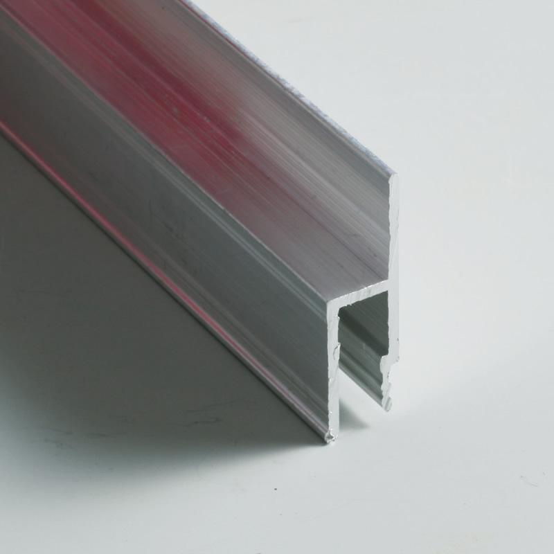 软膜天花客厅吊顶灯箱材料安装专用配件龙骨扁码F码每条2.5米冲钻