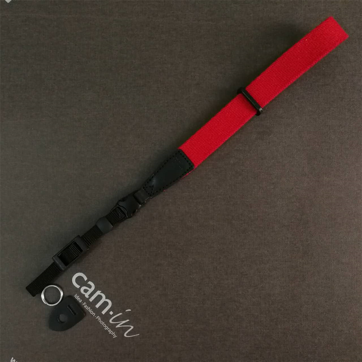 cam-in 棉质通用相机腕带 单反微单佳能尼康数码相机手带 CWS-004