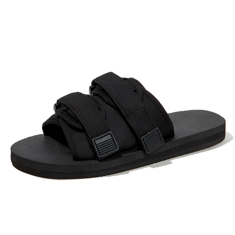 网红拖鞋男凉拖一字拖情侣潮流夏季室外男士拖鞋2019新款外穿凉鞋