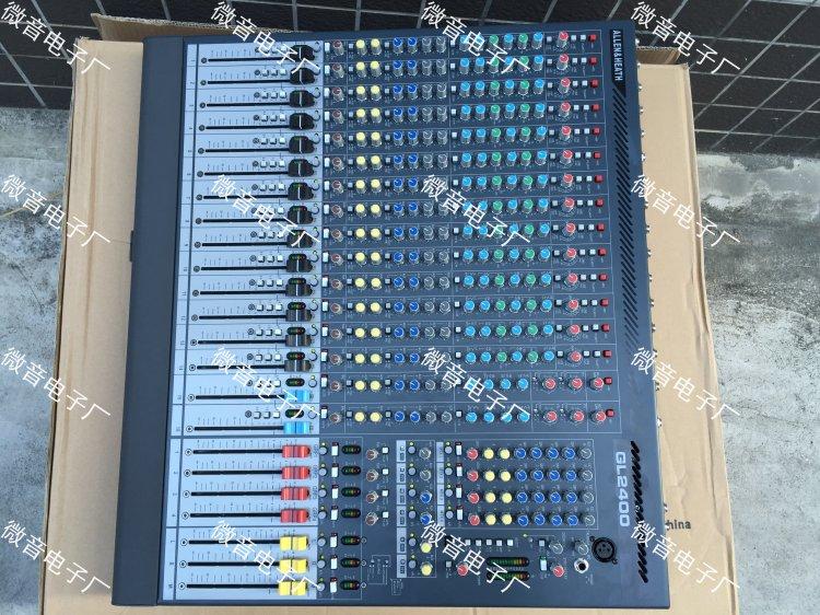 艾伦赫赛 GL2400-416 16路专业舞台演出工程调音台 原装进口元件