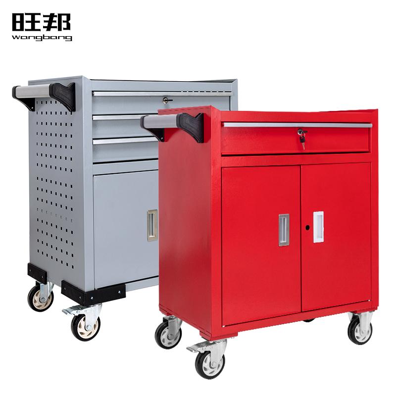 加强款抽屉式工具车五金工具箱车间工具柜维修小手推车箱零件柜