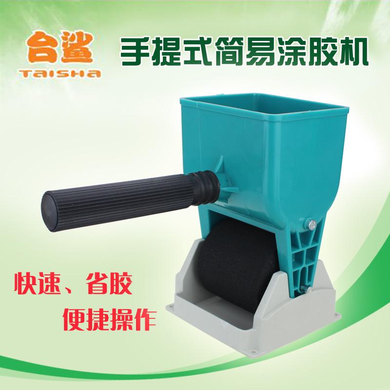 手动涂胶机 滚筒 手提滚胶器 木工涂胶器 白乳胶木皮刷胶器3寸6寸
