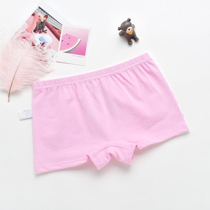 女童内裤纯棉四角 中大童小女孩平角内裤1-3-5-9岁儿童三角短裤头