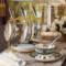 高档描金骨瓷咖啡杯欧式英式下午茶杯具套装陶瓷花茶杯小奢华