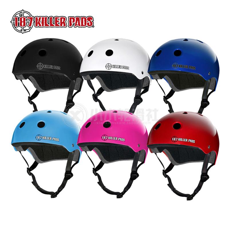 美國187 Killerpads 兒童成人輪滑長板滑板極限運動頭盔安全帽子