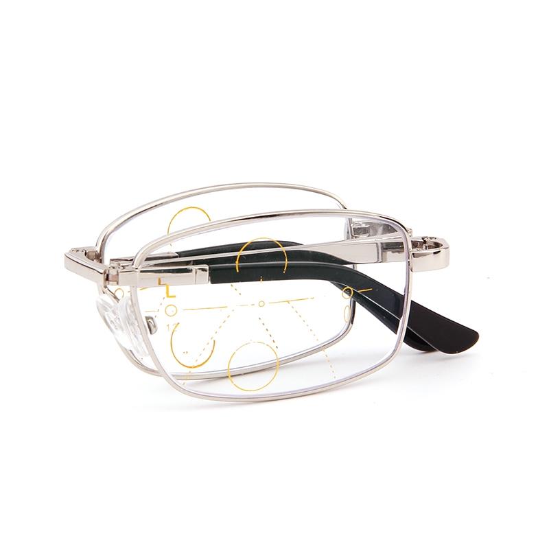 老花镜男折叠远近两用超轻智能双光渐进多焦点变色老光眼镜女高清