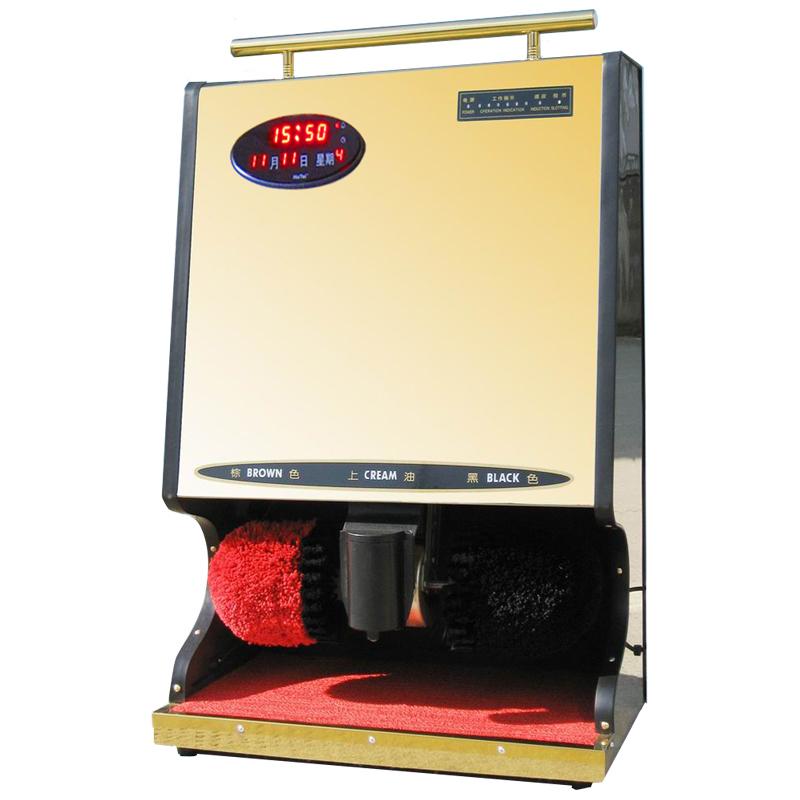 New point万年历全 酒店自动擦鞋机 自动 公用 擦鞋机 感应刷鞋机