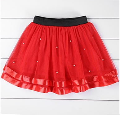 【天天特价】女童演出舞蹈裙半身裙中大童蓬蓬裙短裙子纱裙夏包邮
