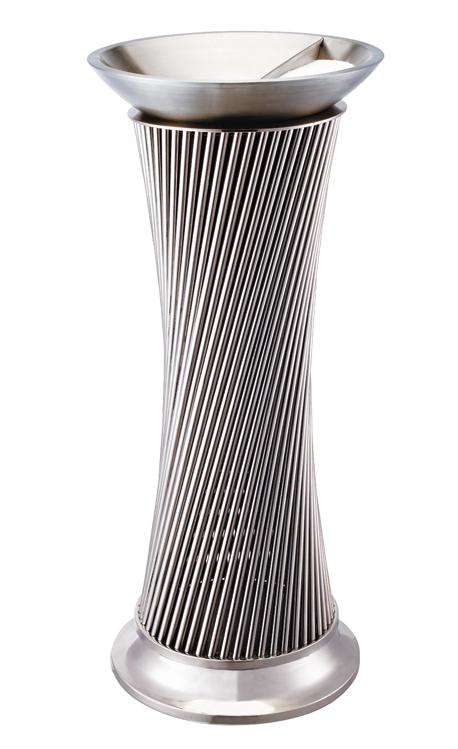 高档欧式酒店大堂座地烟灰桶时尚创意立式垃圾桶带烟灰缸果皮箱
