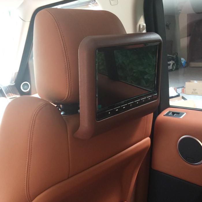 免费升车标9寸10.6寸外挂高清汽车载后排显示器DVD头枕MP5播放器