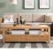 优木家具 纯实木茶几1.2米 橡木茶几1.4米茶桌 北欧简约客厅家具