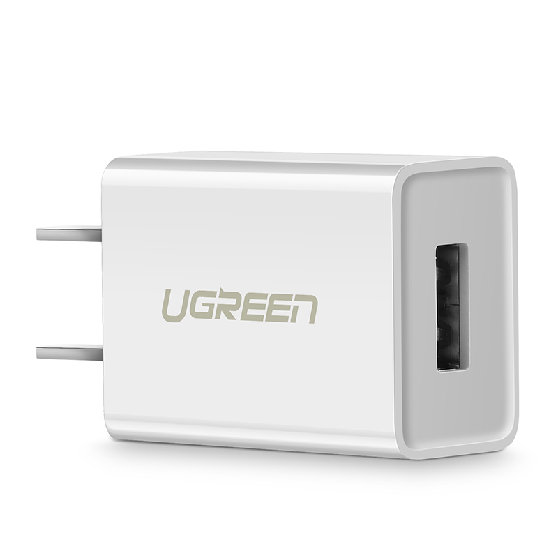 绿联5v1a充电器通用苹果x/iphone6s7p8p平板ipad单头数据线2a快充一套装usb插头2.1a安卓通用苹果6/7小米手机