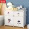 床边床头柜简约现代小型简易收纳塑料小柜子卧室储物式组装多功能