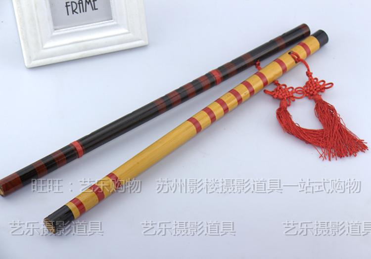 古装道具笛子表演出舞蹈道具竹笛葫芦丝影楼写真摄影拍照道具笛子
