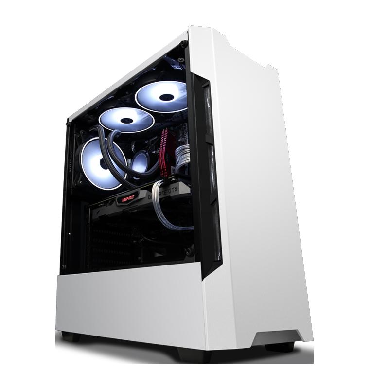 高配电脑i7 8700水冷 9700K/RTX2060升SUPER华硕显卡组装全套 台式 游戏型八核直播吃鸡英雄联盟电脑主机专用