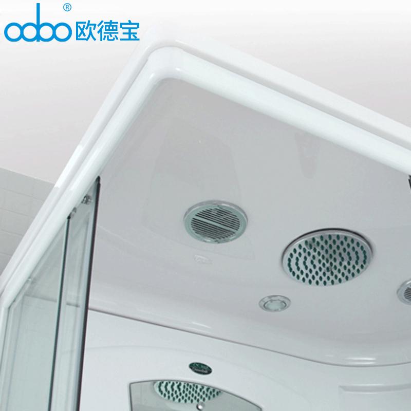 欧德宝 豪华浴室整体淋浴房钢化防爆玻璃房洗浴房隔断蒸汽浴房