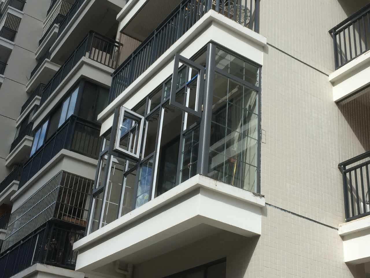 海南门窗海口苏美莱门窗断桥铝隔音门窗密封门窗防水门窗封阳台