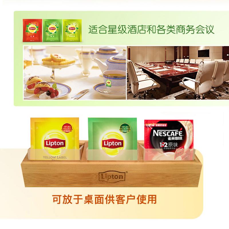 盒袋泡茶包酒店客房专用茶包 袋 80 2g 立顿茉莉花茶茶包独立纸包装