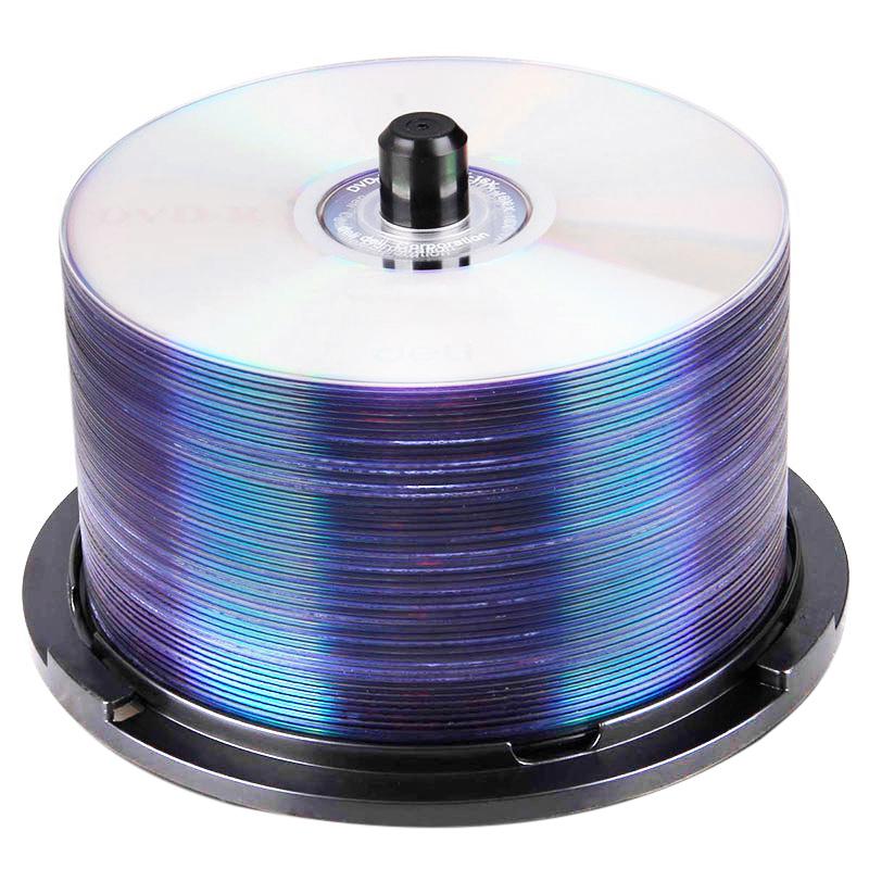 得力3724 dvd光盘dvd-r刻录光盘光碟空白光盘刻录盘 50片批发4.7G