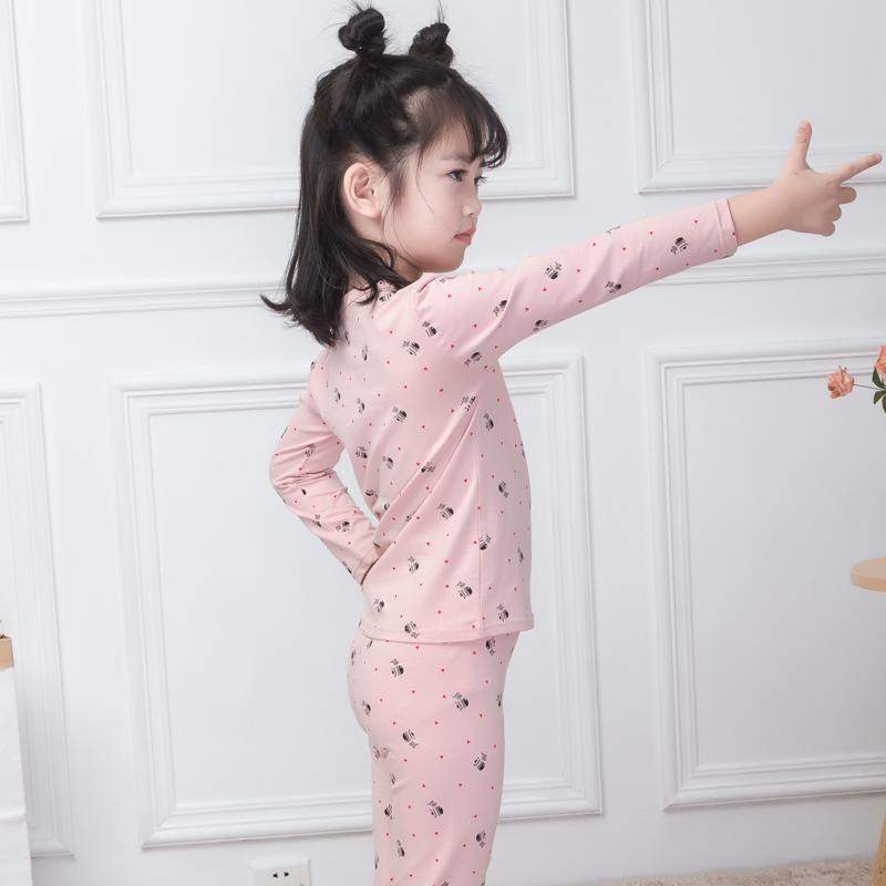 男童秋冬打底内衣套装纯棉儿童秋衣秋裤中小童家居服女孩贴身睡衣