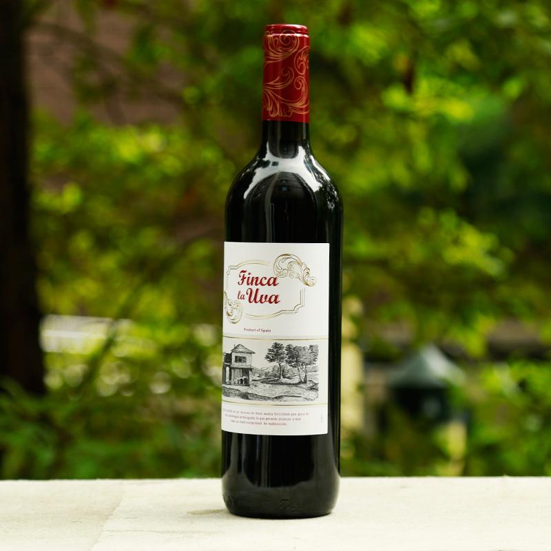 支裝 6 西班牙進口干紅葡萄酒羅莎芬卡拉整箱 羅莎紅酒